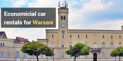 Economical car rentals for warsaw